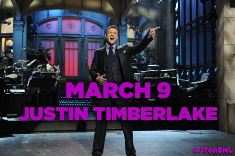 Justin Timberlake Returns To SNL March 9th